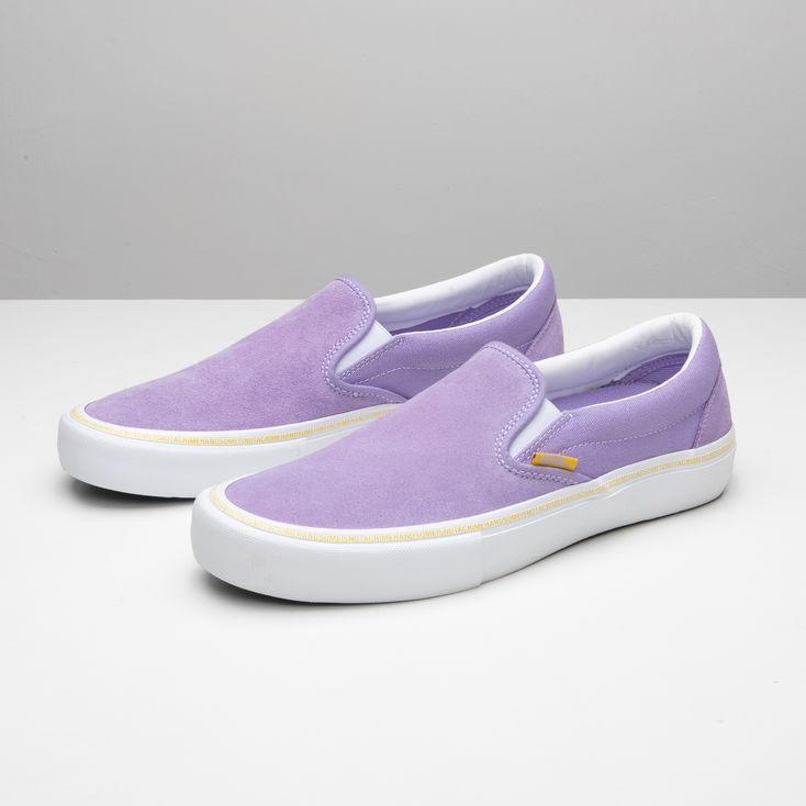 Purple Slip On Pro Shop at Vans - Vans