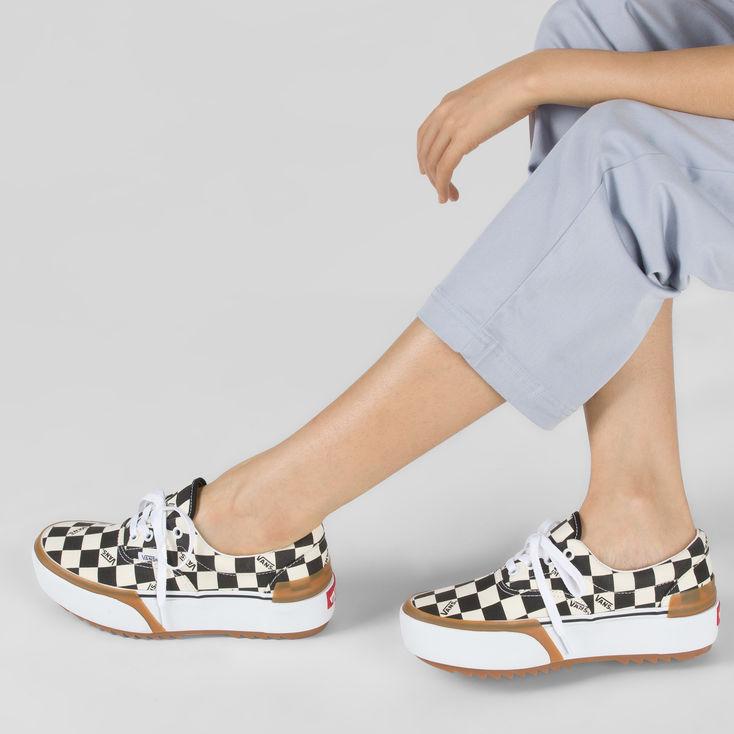 White Checkerboard Era Stacked|Shop at