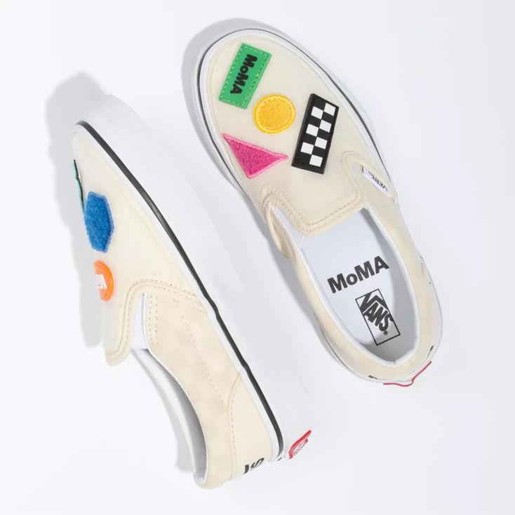Vans MoMA Kid Classic Slip-On|Shop at