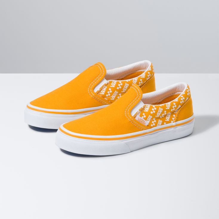Yellow Kids Classic Slip On|Shop at