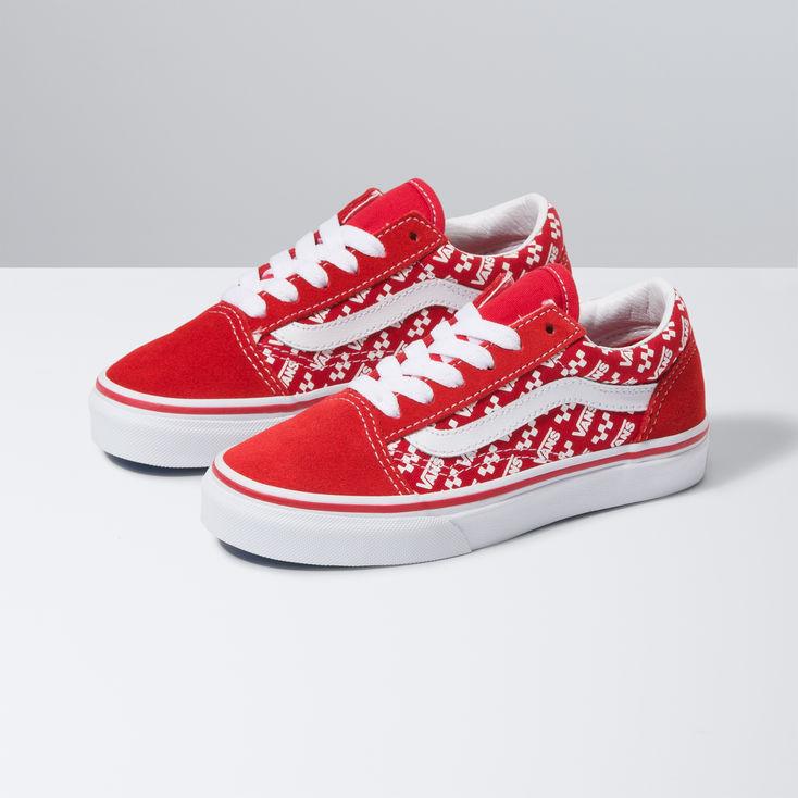 Red Kids Old Skool|Shop at Vans - Vans