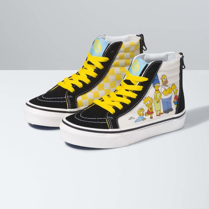 Vans x The Simpsons Kid SK8-Hi Zip|Shop
