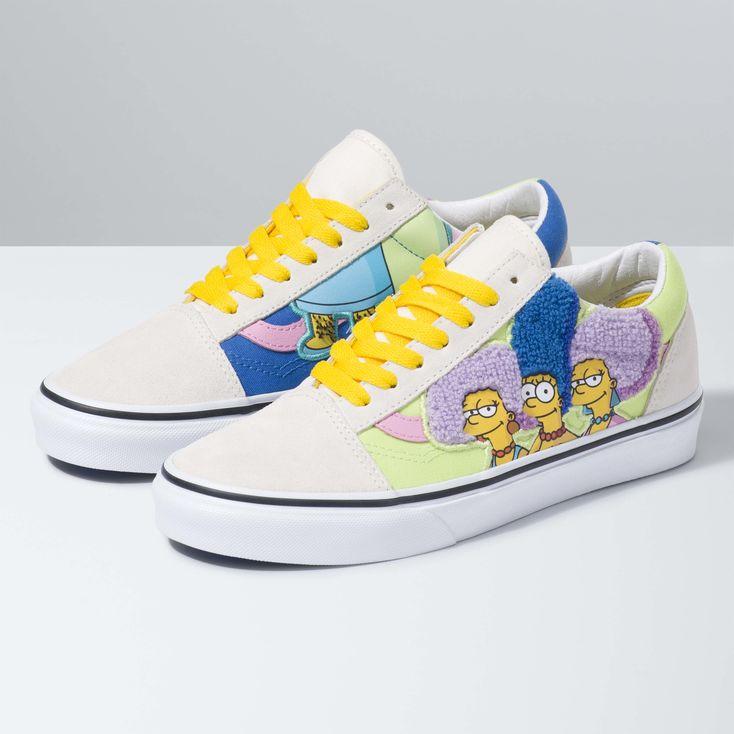 Vans x The Simpsons Old Skool|Shop at