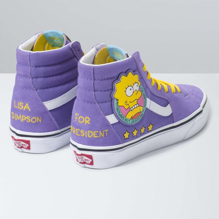 Vans x The Simpsons SK8-Hi|Shop at Vans