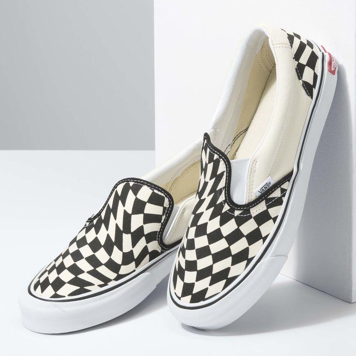 Warp Checker Classic Slip-On Twist|Shop