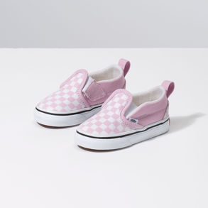 Toddler Checkerboard  Slip On V