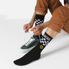 Circle Vans Crew Socks