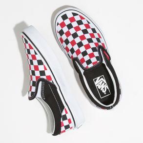 Kids Checkerboard Slip On