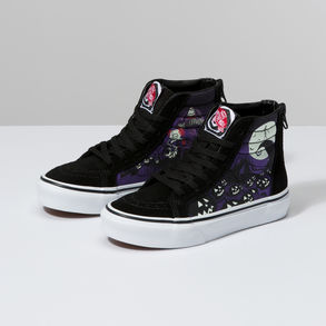 The Nightmare Before Christmas Kids Sk8 Hi Zip