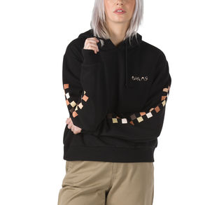 Breast Cancer Awareness Cropped Pullover Hoodie