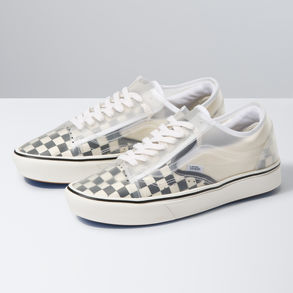 Checkerboard ComfyCush Slip Skool