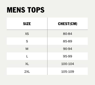 vans cm size chart
