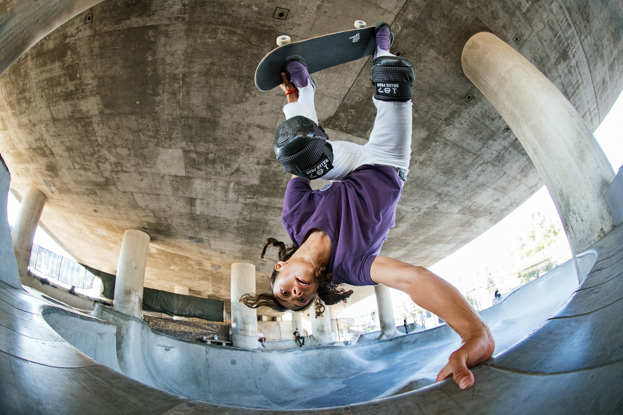 PRO SKATER LIZZIE ARMANTO LAUNCHES NEW